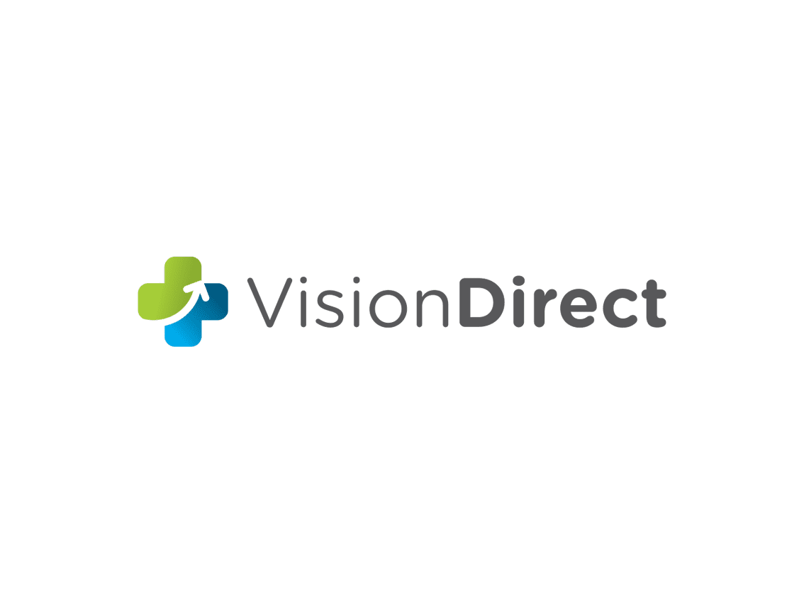 Vision Direct Logo to show freelance digital marketer client